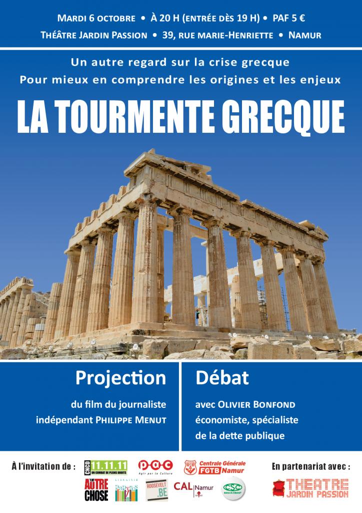 La tourmente grecque affiche FINAL